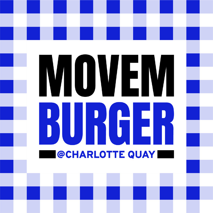 Movemburger Pop Up at CQ